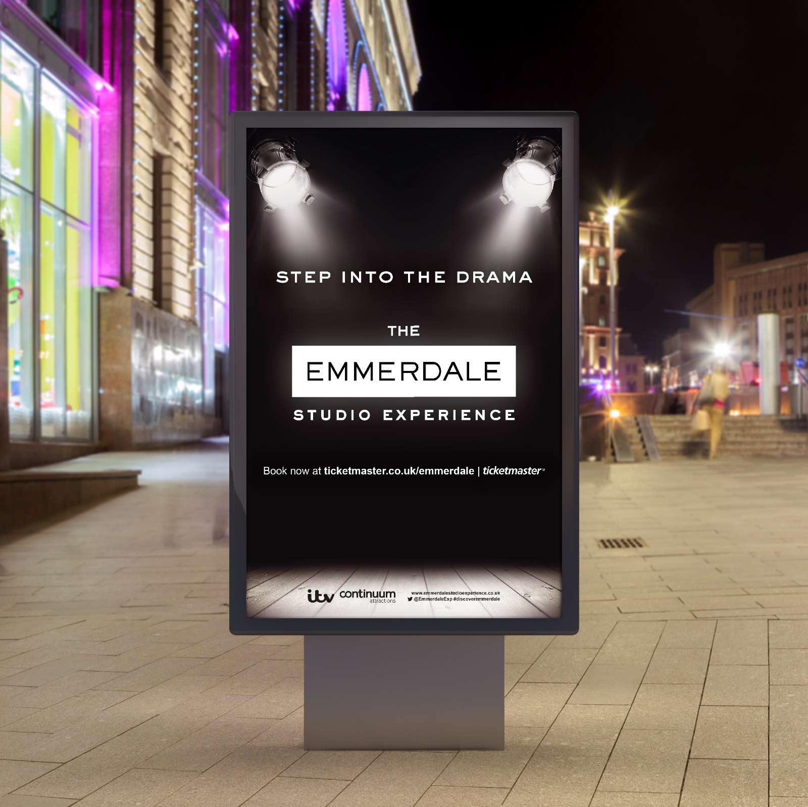 The Emmerdale Experience 6 Sheet