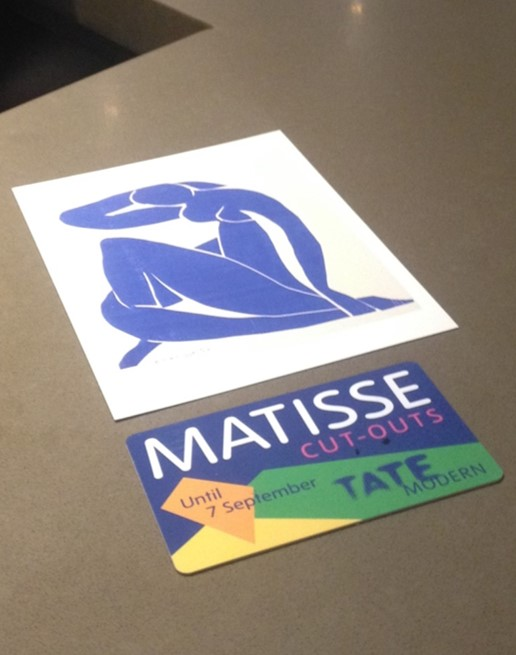 Matisse Bespoke Postcards and Room Key